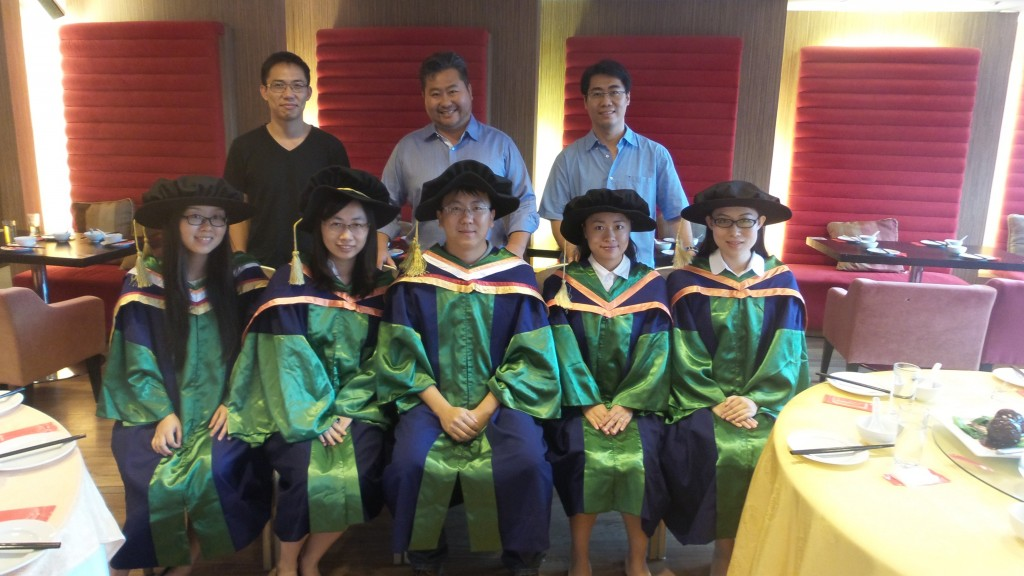 PAT group's PhD students graduated